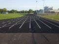 Wellsville High School Track made of asphalt paving