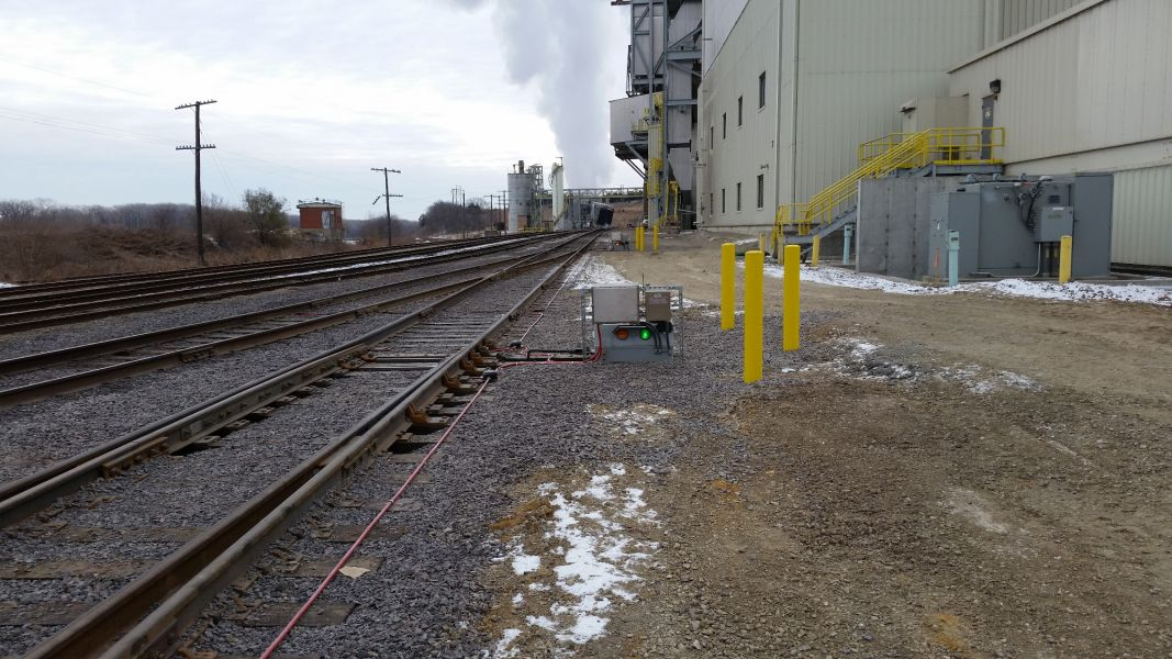 railroad maintenance and construction at Westar Energy