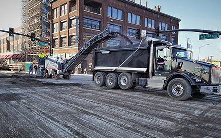 Asphalt Paving and Repair on Major Roadway