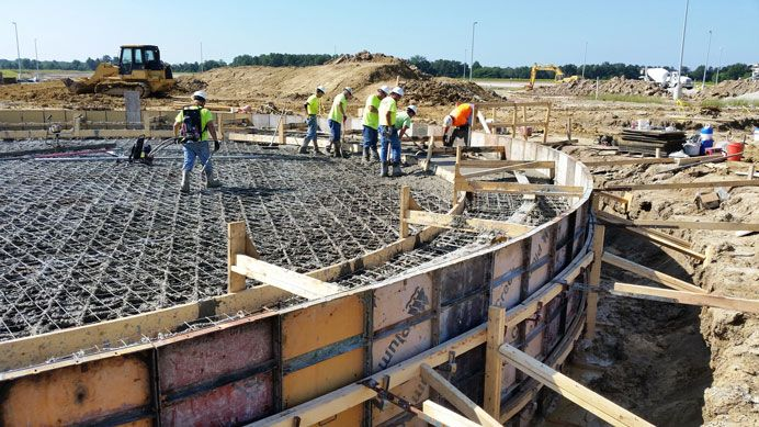 Structural Concrete Construction Project in Wichita, KS